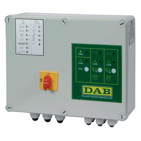 DAB E-Box 2D M 40 mF  12 Amper (for 2 single )